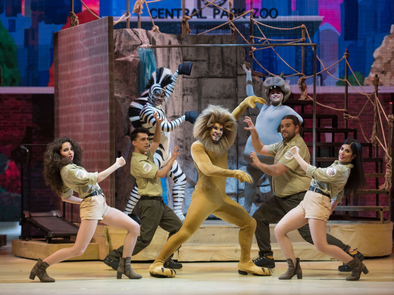 ¡¡¡¡¡¡ SUSPENDIDO !!!!!! - MADAGASCAR, EL MUSICAL